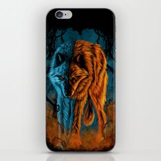 Fire And Ice iPhone & iPod Skin
