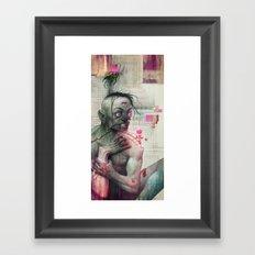 Self Analysis Defrag Framed Art Print