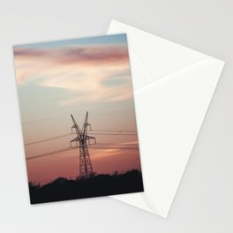 Electric Sunset Stationery Cards