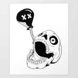 poisonous (no background) Art Print