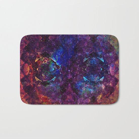 Rainbow Aura Quartz NebulÆ Bath Mat