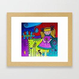 Shilou Dreaming Framed Art Print