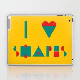 I heart Shapes Laptop & iPad Skin