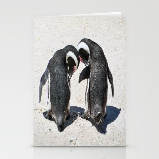 Penguins of Boulder Beach Stationery Cards