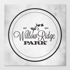 Willow Ridge Park Canvas Print