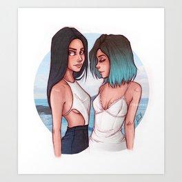 K & K Art Print