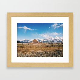 The Grand Tetons Framed Art Print