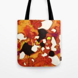 Rockburning Tote Bag