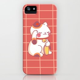 Maneki-Neko iPhone Case