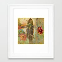 lily Framed Art Prints featuring Lily by Aimee Stewart