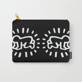 Keith Haring: Radiant Baby from Icons series, 1990 Carry-All Pouch