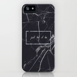 Let It Be Phone Case iPhone Case
