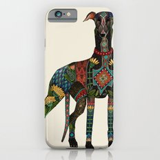 greyhound ivory iPhone 6s Slim Case