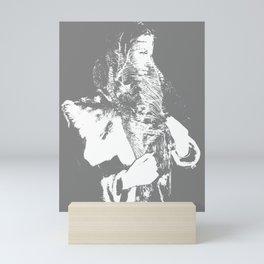 JACKY Mini Art Print