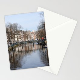 Canals of Amsterdam Stationery Cards