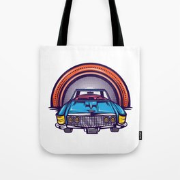 Are You A Vintage Person? Car Lover? Here's A Detailed Design Of  Muscle Car T-shirt Design Tote Bag