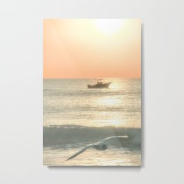 Fishermans Sunrise 4 by Murray Bolesta Metal Print