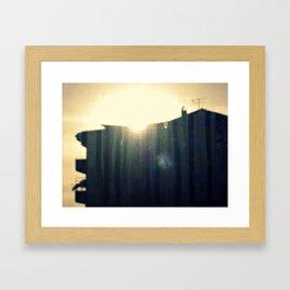 neighbours Framed Art Print
