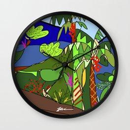 Selva #3 Wall Clock