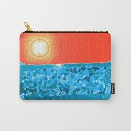 Desert Sky, Sea Land Carry-All Pouch