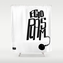 Ectoplasm! Shower Curtain