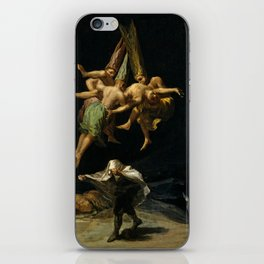 "Francisco Goya ""Witches' Flight also known as Witches in Flight or Witch"" iPhone Skin"