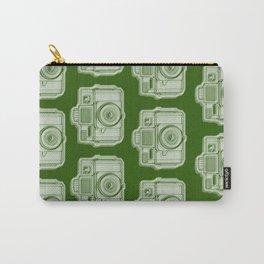 I Still Shoot Film Holga Logo - Reversed Green Carry-All Pouch