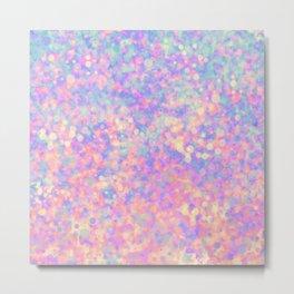 Magic pink Metal Print