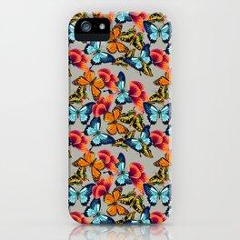 Jardim de borboletas iPhone Case