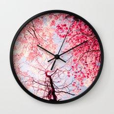 Color Drama I Wall Clock
