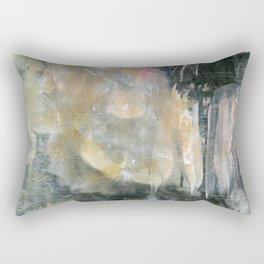 Painted Pink Rectangular Pillow