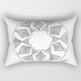 Geometric Cloud Rectangular Pillow