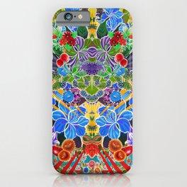 Flower Burst iPhone Case