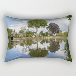 River Thames Surrey Rectangular Pillow