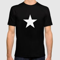 Star by Friztin Mens Fitted Tee MEDIUM Black