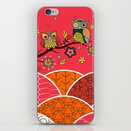 Happy Owls iPhone Skin