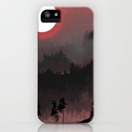 Hunters Moon/Dark Forest iPhone Case