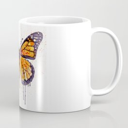 Monarch Butterfly watercolor Coffee Mug
