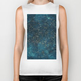 Under Constellations Biker Tank