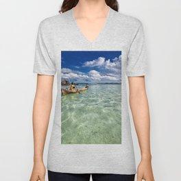 Lagoon Unisex V-Neck