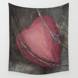 Trapped Heart II Wall Tapestry