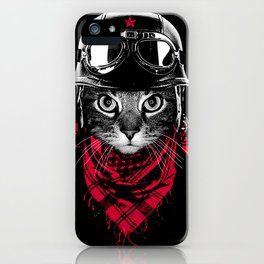 Adventurer Cat iPhone Case