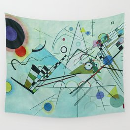 Vassily Kandinsky Composition VIII, 1923 Wall Tapestry