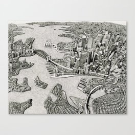 Sydney, Australia (2014) Canvas Print