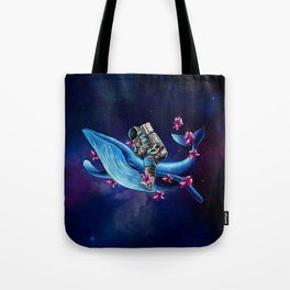 Space Wanderer Tote Bag
