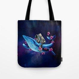 Space Wanderer Tote Bag
