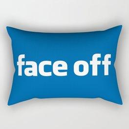 2010 - Face Off Rectangular Pillow