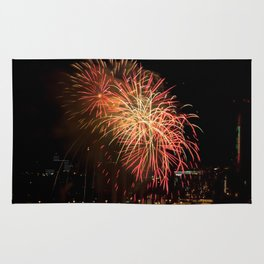 Firework collection 13 Rug