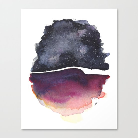 Star Egg Canvas Print