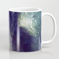 king Mugs featuring King by Anna Dittmann